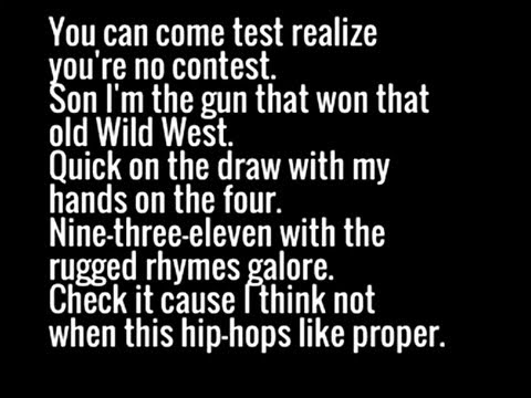 Method Man - Bring The Pain Lyrics