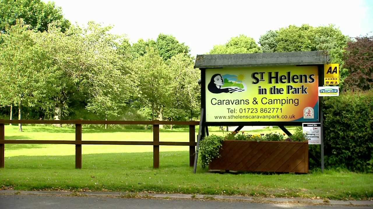 St Helens In The Park Camping And Caravanning Site Scarborough Youtube