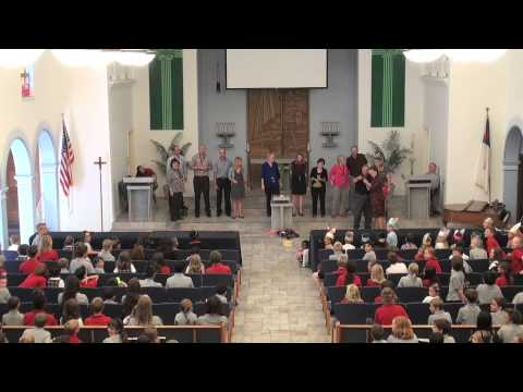 Christ Lutheran School in La Mesa,CA Principal for the day request Staff Hokey Pokey - 05/30/2013