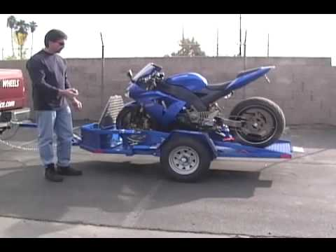 Trp Corp Hydraulic Motorcycle Trailers Wmv Youtube