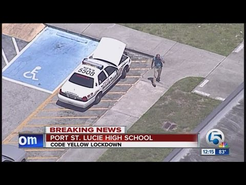Threat prompts lockdown at Port St. Lucie High School