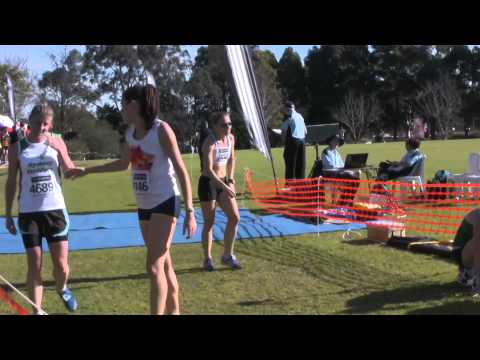 Women&#039;s 5km NSW Short Course XC 2011