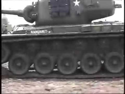 RC US M26 Pershing T26E3アメリカ戦車 M26 パーシング・フルオペレーションセット