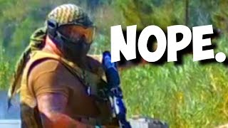 Airsoft CHEATER Thinks He Won't Get Caught
