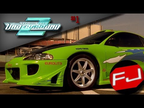 Need For Speed Underground 2 - Fast & Furious Brian's Mitsubishi Eclipse