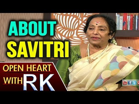 Senior Actress K.R Vijaya About Savitri | Open Heart with RK | ABN Telugu