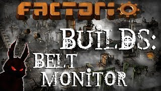 Factorio Builds 2017 ►Belt Monitor with Memory Cell!◀ Steam Gameplay