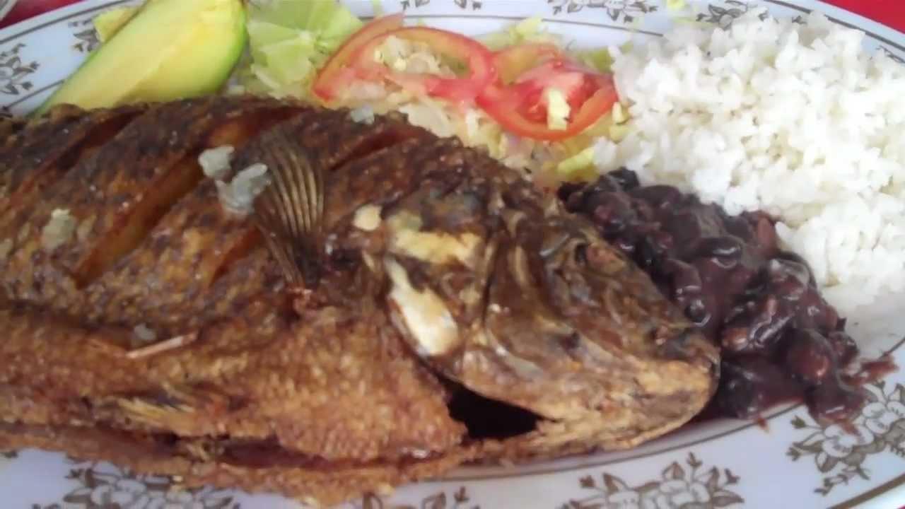 Pescado Frito Nicaragua Pescado Frito Coctel de