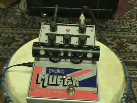 FPE-TV ElectroHarmonix English Muffin Guitar Distortion Pedal