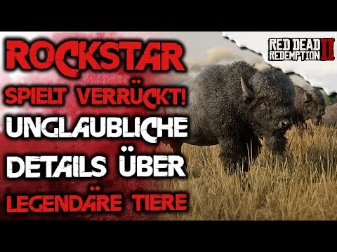 NEWS - Unglaubliche Details über legendäre Tiere - Red Dead Redemption 2 Deutsch