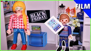 Playmobil Film deutsch  Black Friday im Shopping Center  💰Spielzeug Kinderfilm