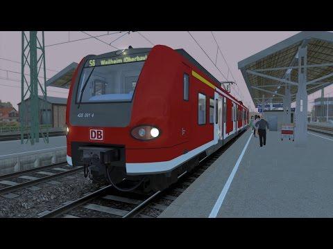 Let's Play Train Simulator 2015 - Folge 1 - Pendlertransport mit BR424 [German] [HD]