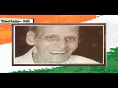 "Voice of Kavi Pradeep: The poet who penned ""Aye Mere Watan Ke Logo"""