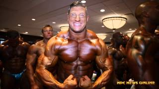 2015 IFBB North American Championships Bodybuilding Backstage Video