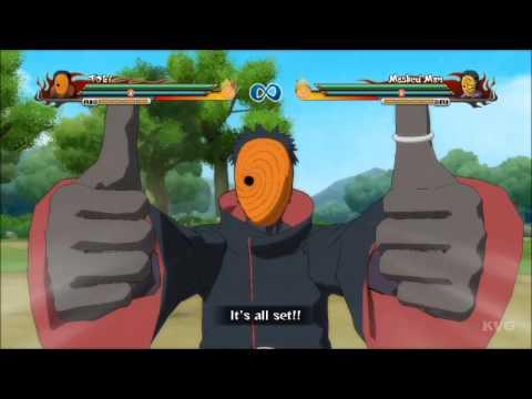 Naruto Shippuden: Ultimate Ninja Storm Revolution - Tobi | Obito | All Ultimate Jutsu's [HD]