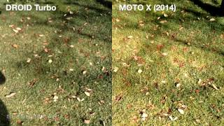 Moto X (2014) vs DROID Turbo camera battle