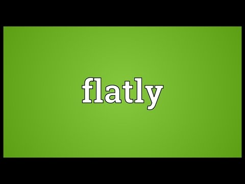 Header of flatly