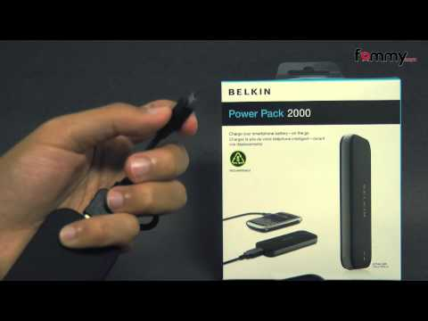 Belkin 2000mAh Battery Pack with MicroUSB cable