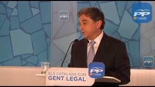 """PPC - """"Iniciamos la semana de la verdad sobre el caso Pujol y el proyecto separatista de CiU y ERC"""""""
