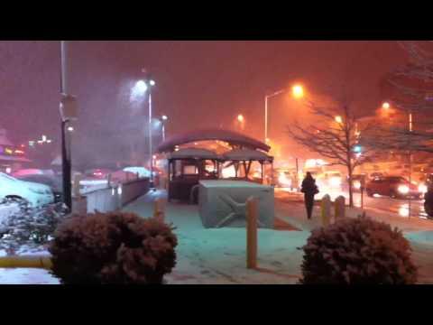 Cleveland Park snow