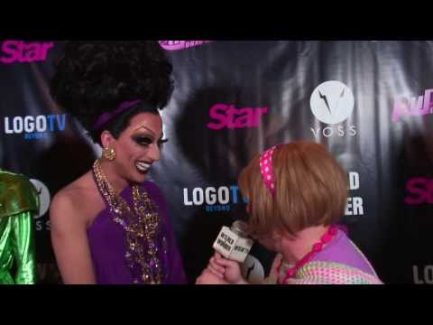 Damiana & Bianca Del Rio on the