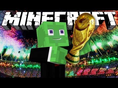 Minecraft: Brazil FIFA World Cup Mini-Game w/ MrWilliamo