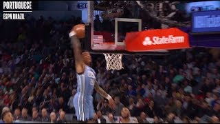 As Heard Around the World: John Collins Off The Backboard Dunk To Himself