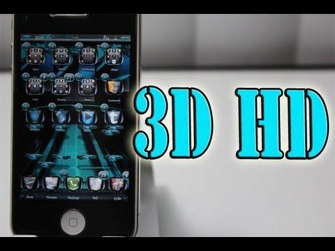 3D Theme - 3D HD Theme Review