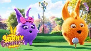 Cartoons for Children   SUNNY BUNNIES - CRAZY GOLF   Funny Cartoons For Children