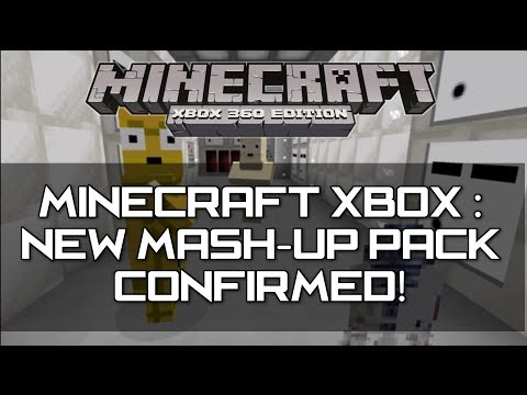 Minecraft Xbox 360 & PS3 : New Mash-Up Packs Confirmed! (Star Wars? Doctor Who?)