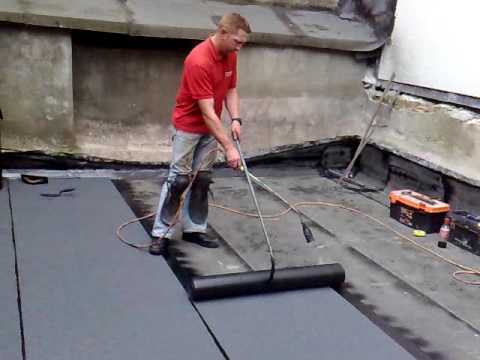 Flat Roofing By Michael Dempsey Youtube