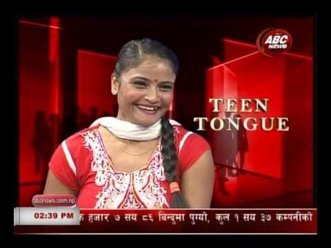 One Leg Dancer  Roma Neupane in Teen Tongue special talk By Sharada Thapa , ABC NEWS NEPAL