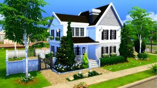 The Sims 4 || Speed Build || Base Game Family Home