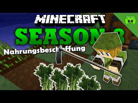 NAHRUNGSBESCHAFFUNG «» Minecraft Season 8 # 9 HD