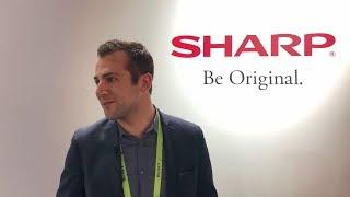 CES 2019:  Sharp Aquos Zero phone is World's Lightest 6-inch Smartphone