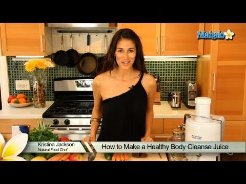 How To Make A Healthy Body Cleanse Juice video
