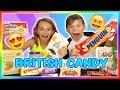 BRITISH CANDY TASTE TEST! | We Are The Davises