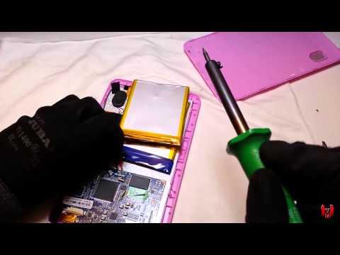 Cambio de batería a Tablet | Que no carga o dura poco