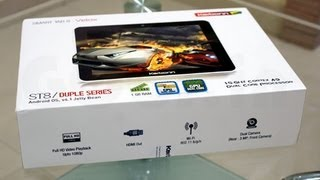 Karbonn Smart Tab 8 velox review and unboxing