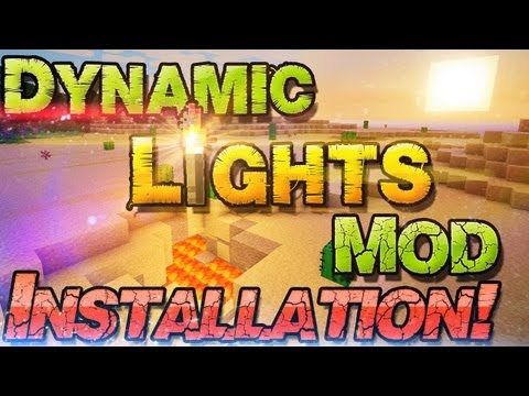 ✧ Dynamic Lights Mod ✧ Minecraft 1.7.2 Mods - Realistische Lichtquellen   Win + Mac   German Deutsch