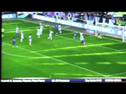 Traversa clamorosa Ryder Matos Juventus 1 Fiorentina 0