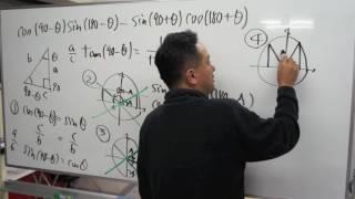 FCS数学教室/三角比/sin⇔cos