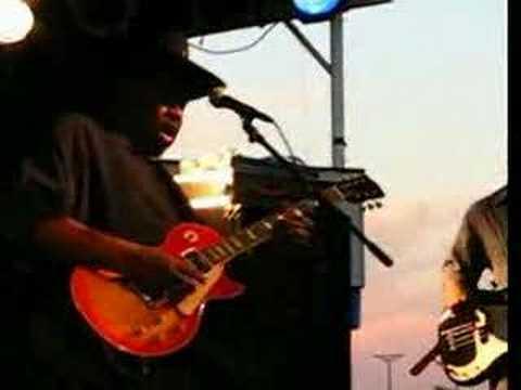 Magic Slim at 2008 Greeley Blues Festival 3
