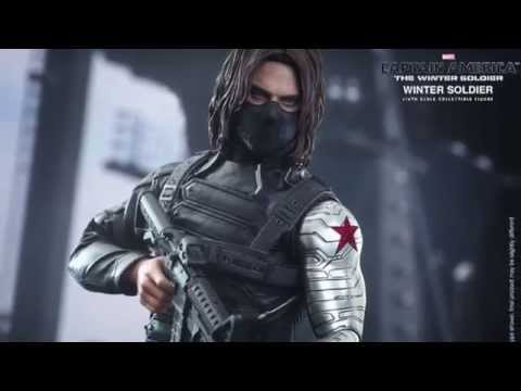 Captain America The Winter Soldier Hot Toys Winter Soldier 1/6 Scale Figure Pics & Details!