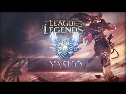 League of Legends - Yasuo Mid - Full Game : Diese Trolls... reported!
