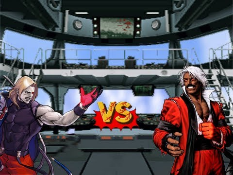 Mugen - Omega Rugal (Aki) vs. God Rugal (Noel&Opirus&Vegetasan3654)