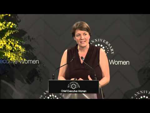 Professor Michelle Simmons address at CEW Annual Dinner 2015