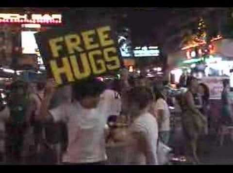 Free Huggs on Kaosan Road Thailand
