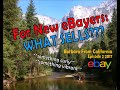 For New eBayers - Stories About What To Buy To Resell On eBay - Barbara From California - Episode 2