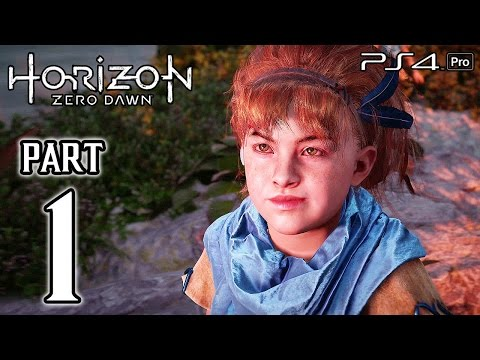 Horizon Zero Dawn Walkthrough PART 1 (PS4 Pro) No Commentary Gameplay @ 1080p HD ✔